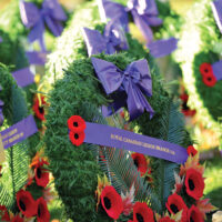 Remembrance day North Van Cenotaph    Nov 11 2015 Photos Mike Wakefield